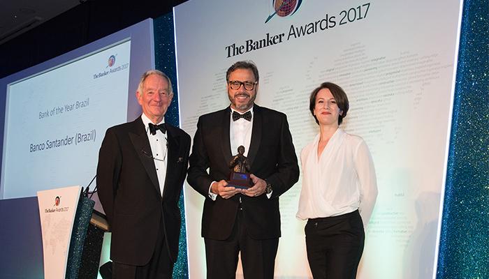 Melhor banco do mundo: The Banker premia Santander