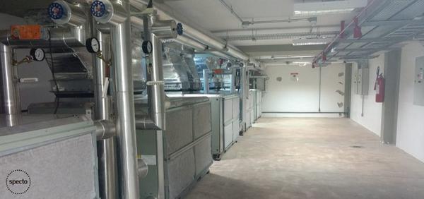 Tecnologia na sociedade - Sala de refrigeração
